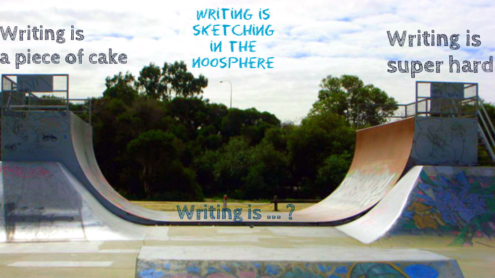 Vert Ramp Metaphor for Writing Teodora