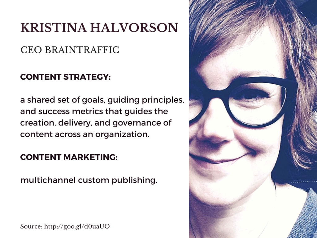 Content strategy vs. Content Marketing