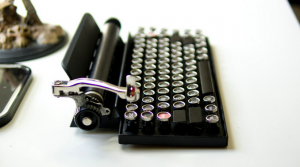The Qwerkywriter - Typewriter Inspired Mechanical Keyboard
