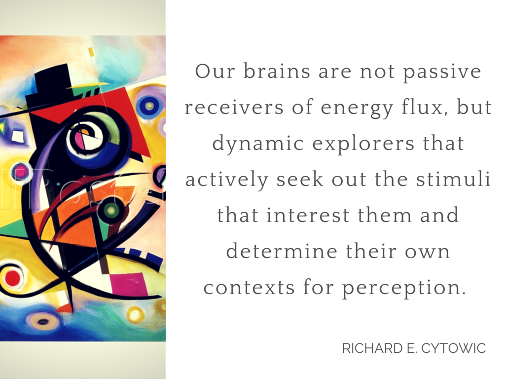 cit R Cytowic from his book on synesthesia