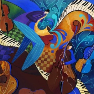 Colorful-Sax-Player-Jazz-Blues-Music-Players_art