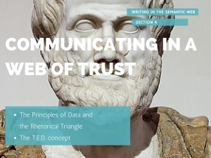 Communicatin in a Web of Trust Image