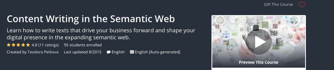 Content Writing in the Semantic Web Image