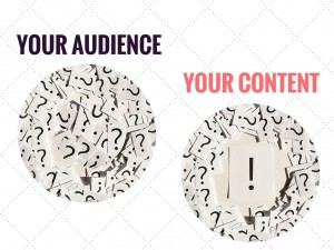 Your audience and your content