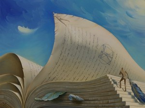 Ascent of the Spirit Art piece by Vladimir Kush 27