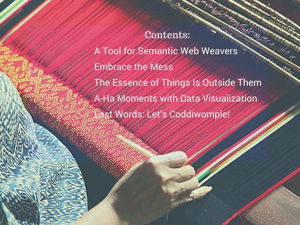 Weaving Image Contents