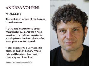 Andrea Volpini Qoute about the Web