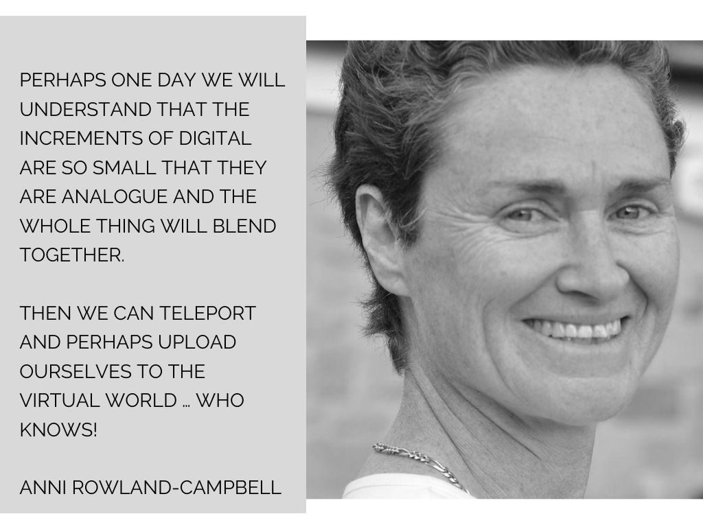 Quote from Anni Rowland-Campbell